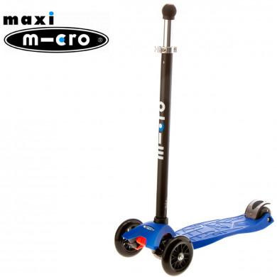 Maxi Micro Joystick blue (Макси Микро джойстик синий) трехколесный самокат
