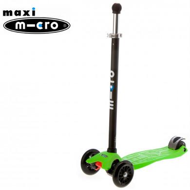 Maxi Micro Joystick green (Макси Микро джойстик зеленый) трехколесный самокат