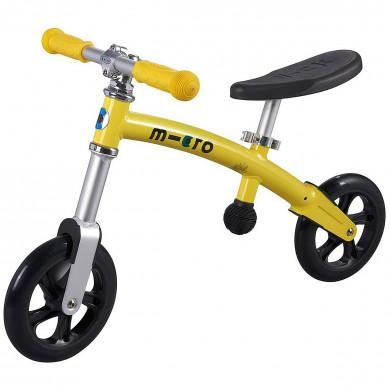 Micro G-bike+light yellow  (Микро Джи-Байк плюс Лайт желтый) беговел