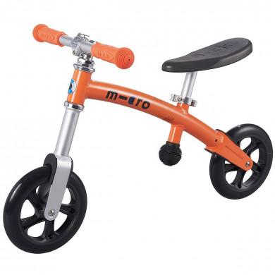 Micro G-bike+light orange (Микро Джи-Байк плюс Лайт оранжевый) беговел
