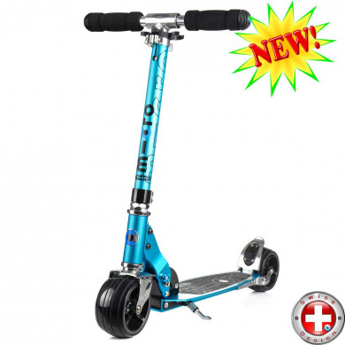 Micro scooter Rocket sky blue (Микро скутер Рокет  синий) самокат