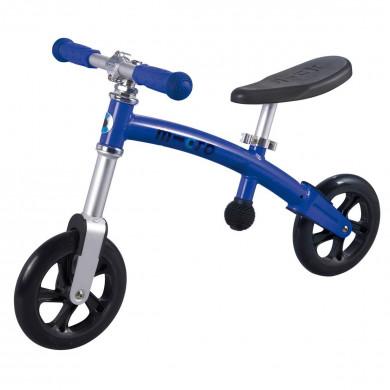 Micro G-bike+light sapphire blue (Микро Джи-Байк плюс Лайт синий) беговел