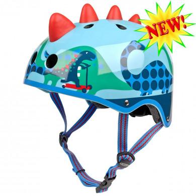 Защитный шлем Micro Dino 3D light blue  размер M