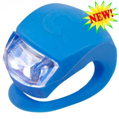 Фонарик Micro light blue на руль самоката и беговела