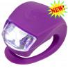 Фонарик Micro purple на руль самоката и беговела