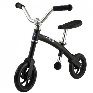 Micro G-bike Chopper black (Микро Джи-Байк Чопер черный) беговел