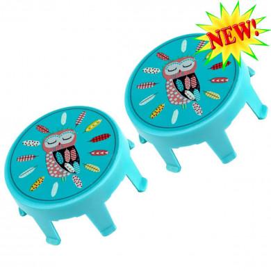 Накладки на колеса Micro Owl для самокатов Mini и Maxi Micro
