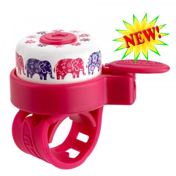 Звонок Micro Elephant pink для самокатов и беговелов