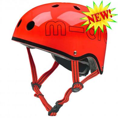 Защитный шлем Micro red глянцевый размер S