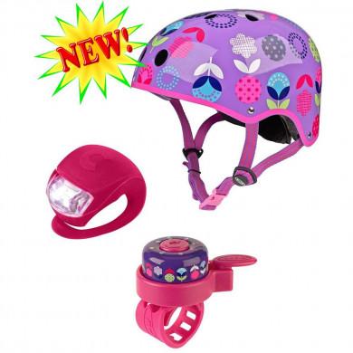 Набор аксессуаров со шлемом Micro Floral dot размер S