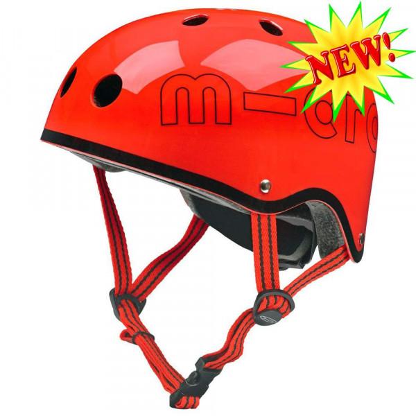 Защитный шлем Micro red глянцевый размер М