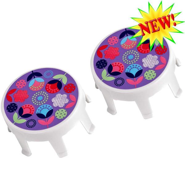 Накладки на колеса Micro Floral dot для самокатов Mini и Maxi Micro