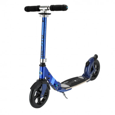 Micro scooter Flex 200 blue (Микро скутер  Флекс 200 синий) самокат