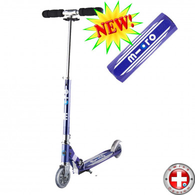 Micro scooter Sprite Retro blue  (Микро скутер Спрайт  Ретро синий) самокат