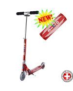 Micro scooter Sprite Retro red (Микро скутер Спрайт Ретро красный) самокат
