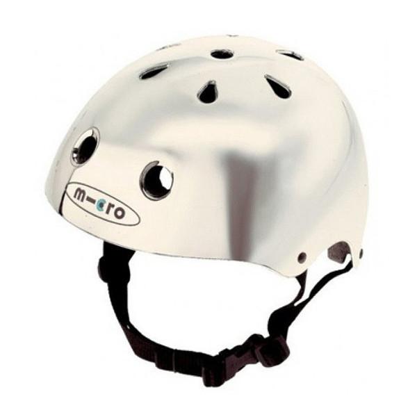 Защитный шлем Micro silver  размер S