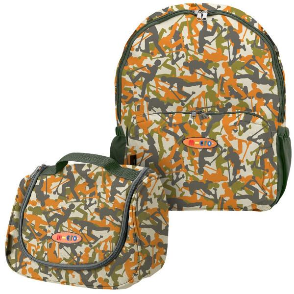 Рюкзак + сумка камуфляж для Maxi Micro