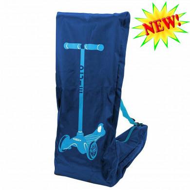 Сумка-чехол Micro blue для переноски самоката Mini Micro