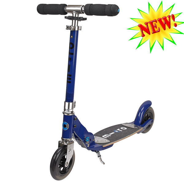 Micro scooter Flex sapphire blue (Микро скутер Флекс сапфир) самокат