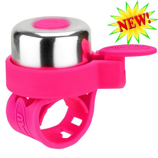 Звонок Micro pink для самокатов и беговелов