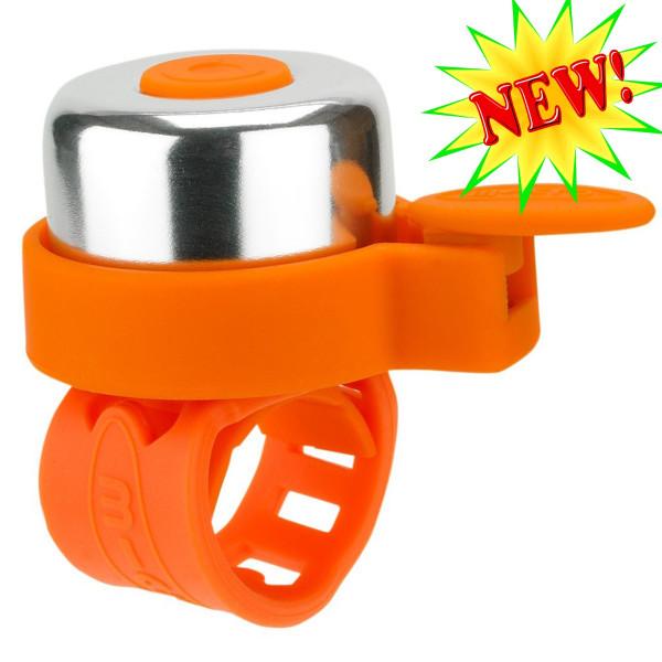 Звонок Micro orange для самокатов и беговелов