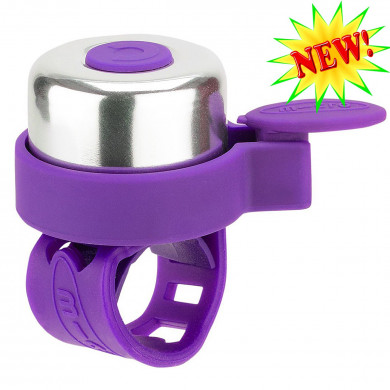 Звонок Micro purple для самокатов и беговелов