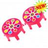 Накладки на колеса Micro pink neon dot для самокатов Mini и Maxi Micro