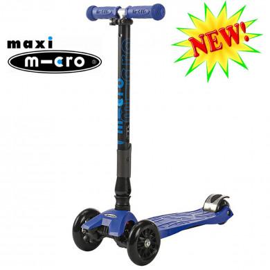 Maxi Micro складной T-tube blue (Макси Микро Т-тьюб синий) трехколесный самокат