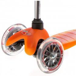 Детский трехколесный самокат с сиденьем Micro Mini 3in1 orange (оранжевый) для малышей от 1 года до 5 лет