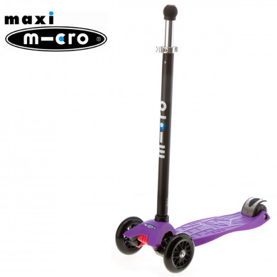 Maxi Micro Joystick purple (Макси Микро джойстик сиреневый) трехколесный самока