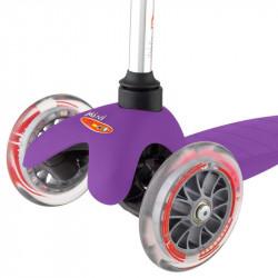 Трехколесный самокат Mini Micro purple (сиреневый)  для детей от 2 до 5 лет