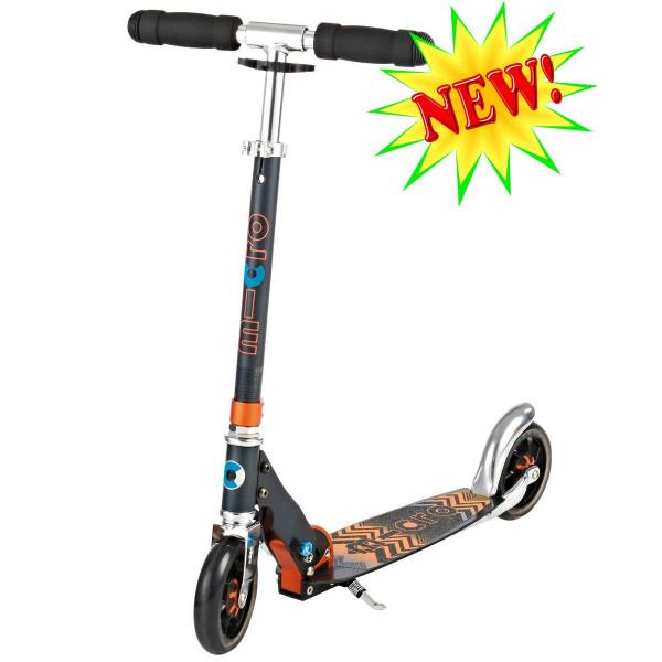 Micro scooter Speed + black (Микро скутер Спид плюс черный) самокат