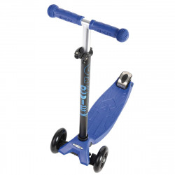 Трехколесный самокат Maxi Micro T-tube blue (синий) для детей от 4 до 12 лет