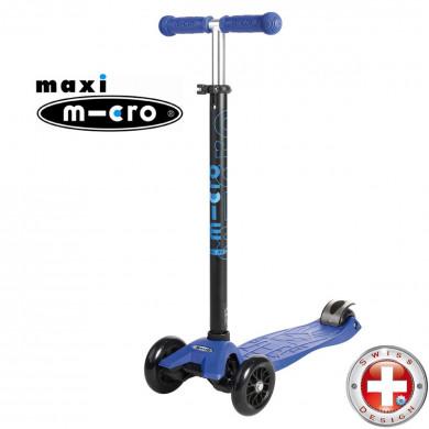 Maxi Micro T-tube blue (Макси Микро Т-тьюб синий) трехколесный самокат