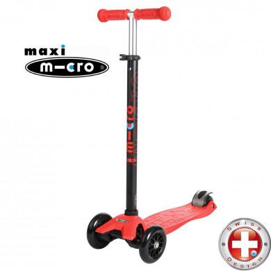 Maxi Micro T-tube red (Макси Микро Т-тьюб красный) трехколесный самокат