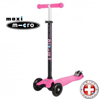 Maxi Micro T-tube pink (Макси Микро Т-тьюб розовый) трехколесный самокат