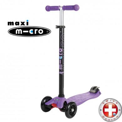 Maxi Micro T-tube purple (Макси Микро Т-тьюб сиреневый) трехколесный самокат