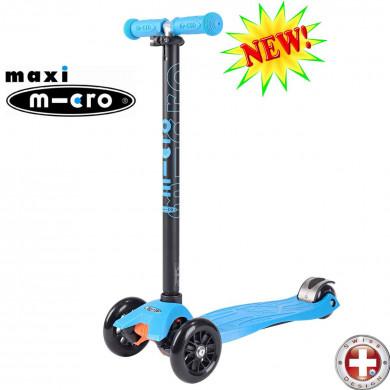 Maxi Micro T-tube aqua (Макси Микро Т-тьюб аква) трехколесный самокат
