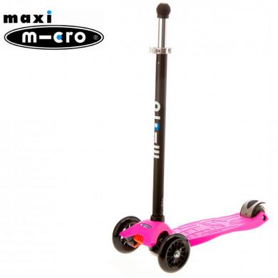 Maxi Micro Joystick pink (Макси Микро джойстик розовый) трехколесный самокат