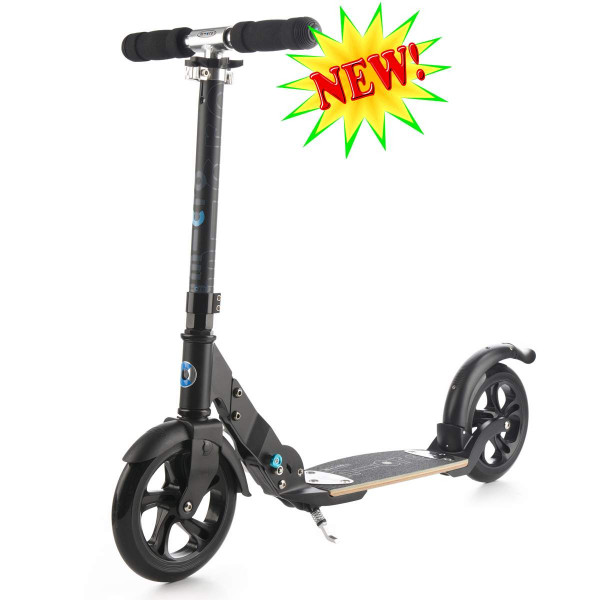 Micro scooter Flex 200 black (Микро скутер  Флекс 200 черный) самокат