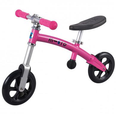 Micro G-bike+light pink (Микро Джи-Байк плюс Лайт розовый) беговел