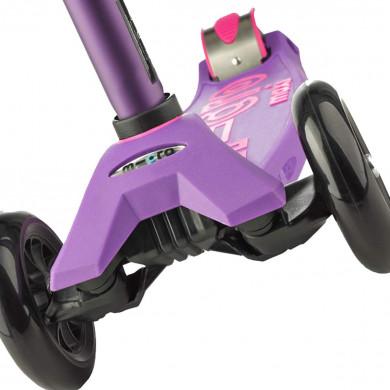 Детский трехколесный самокат Maxi Micro Deluxe purple (сиреневый)