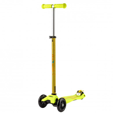 Трехколесный самокат Maxi Micro Deluxe yellow (желтый)