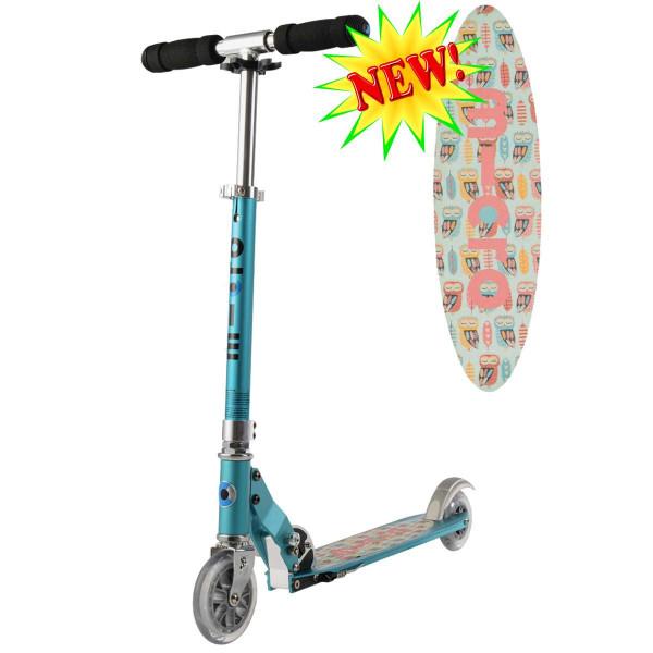 Micro scooter Sprite teal Owl (Микро скутер Спрайт бирюзовый Сова) самокат