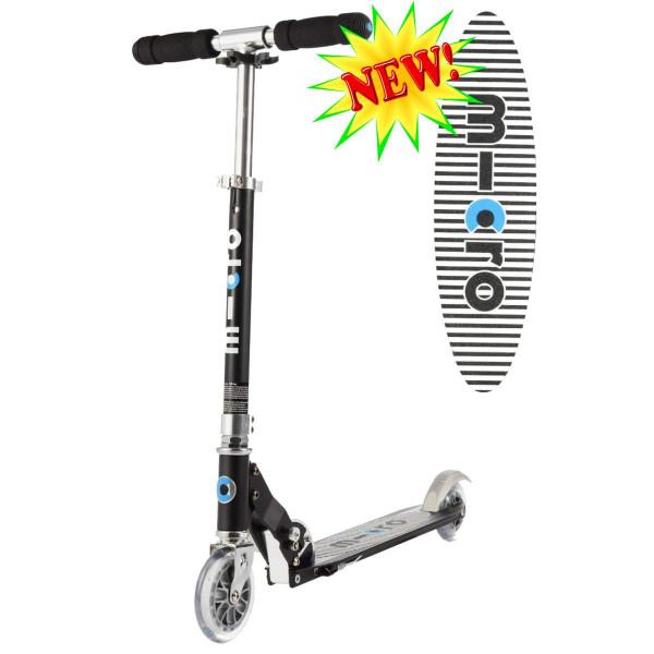 Micro scooter Sprite black Stripe (Микро скутер Спрайт черная полоска) самокат