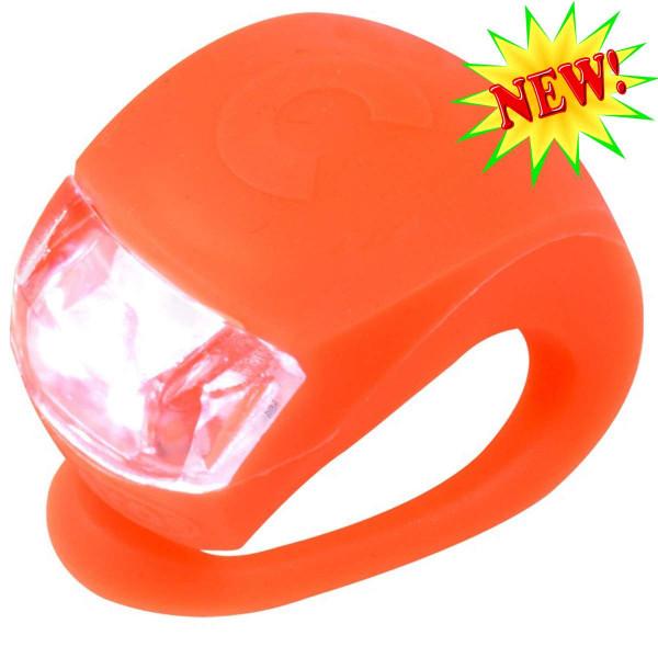 Фонарик Micro orange на руль самоката и беговела