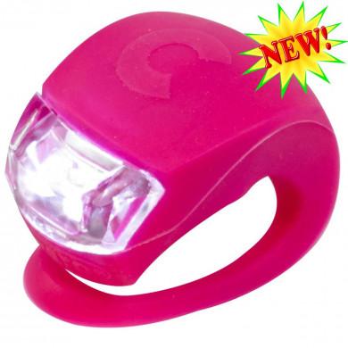 Фонарик Micro pink на руль самоката и беговела