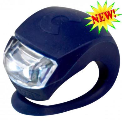 Фонарик Micro dark blue на руль самоката и беговела