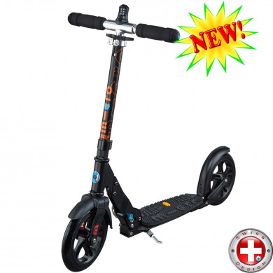 Micro scooter Black Deluxe (Микро скутер Блэк Делюкс) самокат