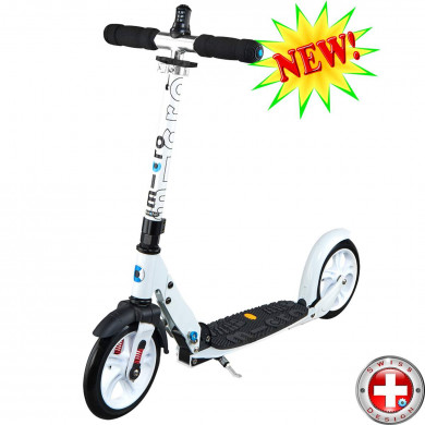 Micro scooter White Deluxe (Микро скутер Уайт Делюкс) самокат